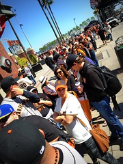 2014 #WorldSerieschampionship #ringceremony at #AtTPark #SanFrancisco () Tags: sf sanfrancisco city apple phone baseball telephone ceremony thecity cellphone cell mobilephone sfgiants giants fans soma gps posh expensive southbeach crowds dynasty southofmarket missionbay tiffanys mlb sfist livebroadcast sanfranciscogiants iphone gigantes baseballgame  baseballteam saofrancisco majorleaguebaseball worldchampions majorleague fieldclub worldserieschampions ringceremony baseballplayers saturdaygame attpark giantswin rowb livegame appleiphone worldseriesrings takenwithaniphone premiumseats giantswon  iphone6 iphonecapture wearegiant backcamera majorleaguechampions fieldclubseats sfgring iphone6capture fieldclubpremium wearesf