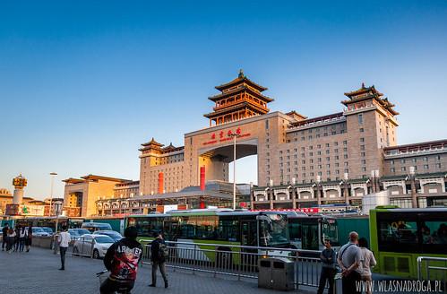 Dworzec w Pekinie
