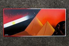 """Giza"" by WIZ (Wiz Art) Tags: africa urban streetart art writing photography graffiti artwork artist flag spray urbanart streetartist marker writer graffitiartist aerosolart graffitiart wiz sprayart streetstyle uniposca graffitism sprayartist wizboy"