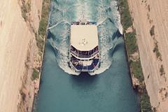 A toda mquina (jartana) Tags: boat barco greece grecia corinthcanal canaldecorinto