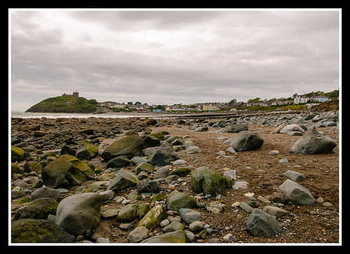 Criccieth from the South East