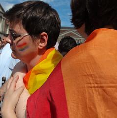 Rainbow couple. (Skyroad) Tags: