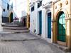 Doors Everywhere (MaعART) Tags: street blue green colors yellow photography doors colorfull morocco maroc marruecos azemmour