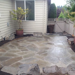 """Stone patio, Rock patio, boulders, outdoor patio <a style=""""margin-left:10px; font-size:0.8em;"""" href=""""http://www.flickr.com/photos/117326093@N05/18168857688/"""" target=""""_blank"""">@flickr</a>"""