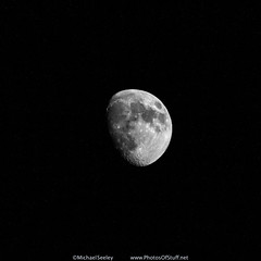 Waxing Gibbous Moon - May 28, 2015 (Michael Seeley) Tags: moon florida melbourne lunar moonphases moonshot waxingmoon moonpictures waxinggibbousmoon mikeseeley michaelseeley