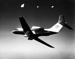 Grumman Gulfstream II NASA 946 29Sep75 [NASA via RJF] (San Diego Air & Space Museum Archives) Tags: aircraft nasa g11 n946na grummangulfstreamii
