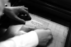 Letterhaus | making of wedding invitations (Nastasia Trenina) Tags: print high invitation letterpress
