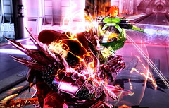 Battle_Lord Victor vs William  in Soulcalibur IV part 2 (Cliffather) Tags: battle william victor hero videogame villain namco soulcalibur fightinggame xbox360game