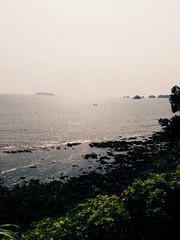 Vue sur l'Ocan Atlantique (Franck Moudiki) Tags: life africa trip travel love tourism eau outdoor cte waters paysage extrieur tourisme cameroon cameroun afrique rivage ocan littoral vsco vscocam