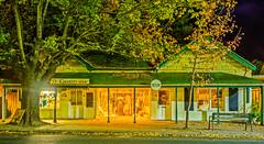 Charity Shop and Poet's Ode (Geraint Draheim) Tags: longexposure autumn evening dusk au australia autumnleaves southaustralia hdr 2016 hahndorf olympusem1 mzuiko1240f28pro