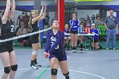 IMG_1964 (SJH Foto) Tags: school girls club high team teenagers teens volleyball burst mode bump tweens