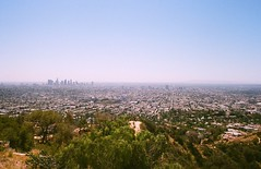Los Angeles (Kev Z.) Tags: california park urban skyline 35mm canon losangeles lomo ae1 southerncalifornia griffith density