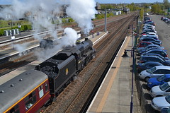Great Britain IX (Gerry Rudman) Tags: britain 5 stirling great class railtour inverness ix oxenholme stanier 44871 mossend
