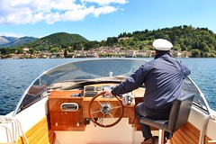 Lake Orta Italy (Paolo_Rabellotti) Tags: sky italy lake lago barca italia piemonte isola orta ortasangiulio