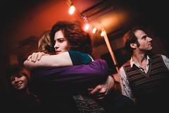 (Nervous Pete) Tags: party classic girl wales lights hugging hug sad emotion flash gig cymru hard cardiff chrome caerdydd nightlife emotional abacus bittersweet 18mm xe2 efx20