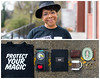Kristy Diptych (J Trav) Tags: portrait persona diptych whatsinyourbag theitemswecarry showusthecontentsofyourbag