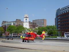 West Midlands Air Ambulance (metrogogo) Tags: england birmingham flight helicopter airborn airambulance