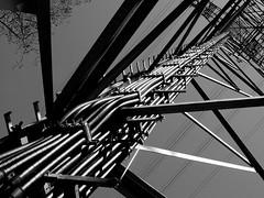 wired | verkabelt (rainbowcave) Tags: power line pylon powerline powerpole strom hochspannungsleitung strommast stromleitung hochspannungsmast transmissionline