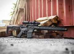 My Custom Built AR-15 (Devin de Armas | Photography) Tags: america rifle guns ar15 noveske