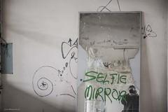 Seflie Mirror (josvdheuvel) Tags: urban nikon belgique belgie explorer urbex belgia montzen josvandenheuvel 0031612267230 josvdheuvelgmailcom wwwjosvdheuvelnl