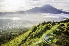 Climbing Mt Batur (Danny Bastiaanse) Tags: people bali mountain nature indonesia climbing batur