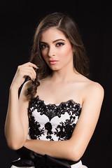 Cindy Cebreros (jhontorrezfoto) Tags: woman white black beauty mexicana hair mexico photography photo mujer model eyes dress photoshoot makeup handsome modelo mexican guapa