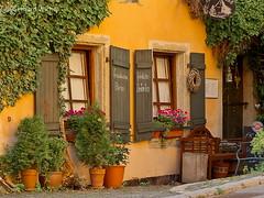 Cozy pub in Hof (GerWi) Tags: house restaurant outdoor haus architektur gebude kneipe hof wirtschaft saale gemtlichkeit