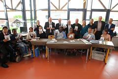 """26/05 - Presles-en-Brie (IEM Villepatour) - Ddicace du livre """"Dans les roues d'Alex"""" (Dpartement de Seine-et-Marne) Tags: livre seineetmarne ddicace"""