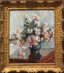 Claude Monet - Chrysanthemums 1882 (ahisgett) Tags: new york art museum met metropolitian