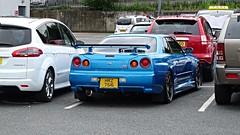 1998 Nissan R34 GTR (>Tiarnn 21<) Tags: omg nissan r34gtr r34 gtr blue uk ireland northern england hrz7516 worldcars