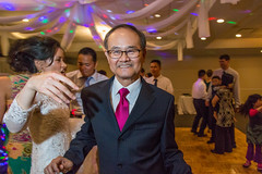 Giving the Bride Away (mookie.nyc) Tags: nyc wedding colors fun bride dance movement dancing flash chinese dancer move event 5d taiwanese newyorkers weddingphotography thehumancondition thehumanelement brideandherfather canon5dmarkiii mookienyc