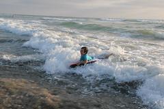 Olsen boogie boarding 2 (Aggiewelshes) Tags: beach june waves sandiego olsen missionbeach boogieboard 2016