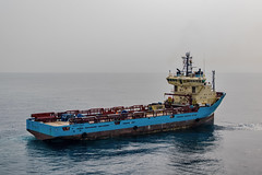 Maersk Finder DP approach (SPMac) Tags: boat ut support ship offshore vessel gas ghana f oil dp service approach stern finder supply 745 psv maersk platfrom