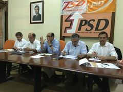 Reunião Comissão Coordenadora Autárquica Nacional com CPD Bragança