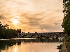 Pont de l'Orb (Nyvek67) Tags: bridge water lumix orb rivire panasonic pont beziers gf7