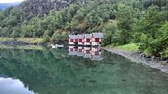 Fjord symmetry (3) (SmartFireCat) Tags: instagramapp square uploaded:by=instagram lumia lumia950xl 950xl fjord fiordo flam noruega aurland norge norway symmetry simetra mar sea mer see seaside coast costa houses casas hause husen hus agua water