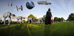 star wars (Ben.Russell) Tags: darth vader atat death star starwars tiefighter deathstar milleniumfalcon iamyourfather lightsaber shadows