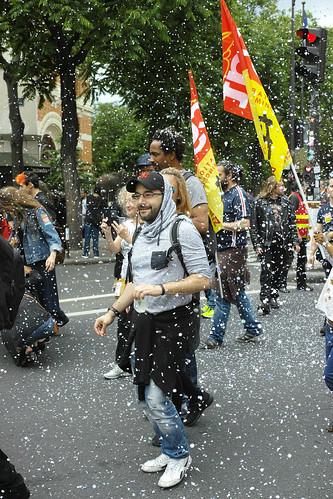 Manifestation contre la loi travail
