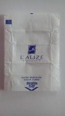 L'Aliz Brasserie 01 (periglycophile) Tags: france sugar cube packet say brasserie sucre morceaux aliz sucrology beghin priglycophilie