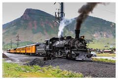 Steampunk (chagingmind) Tags: us election colorado presidential hillary trump durango steamengine milliondollarhighway silvertonouray