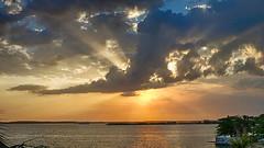 CUBA Cienfuegos Bahia de Jagua (stega60) Tags: light sunset sea sky sun luz sol water cuba cielo nubes elmar hdr cienfuegos stiched cloude panoramma stega60 bahiadejagua