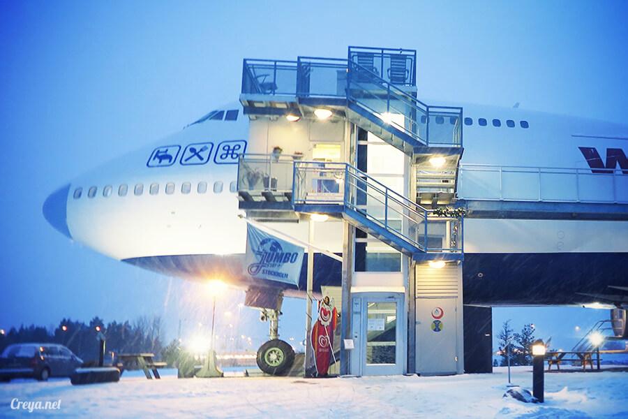 2016.07.08 ▐ 看我歐行腿 ▐ 只載去見周公的飛機,瑞典斯德哥爾摩機場旁的 Jumbo Stay 特色青年旅館08