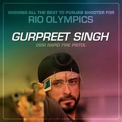 Wishing Gurpreet Singh, a double Commonwealth Games - Youth Akali Dal (BikramSMajithia) Tags: congratulation wishes commonwealthgames olympics