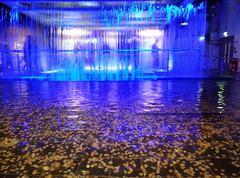 Waterfall (brittbritt_) Tags: city blue ireland cold fall water beauty wonder waterfall factory tour coins indoor guinness mysterious waters wish emotional bliss simple wishing makeawish