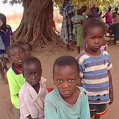 Village children, Gambia