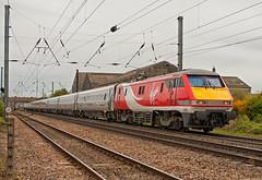 VTEC Class 91 91126 (Barry Duffin) Tags: uk england london train photography nikon leeds rail railway trains virgin locomotive newark vtec ecml class91 d3000 91126 1d17 virgineastcoast
