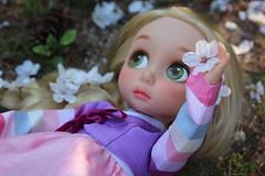Rapunzel and flower (bdeunbim) Tags: princess disney babydoll hanbok rapunzel