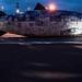 THE BIG FISH NEAR THE LAGAN WEIR IN BELFAST [NIGHT VIEW] REF-104717