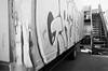 Grews (Georgie_grrl) Tags: friends streetart toronto ontario graffiti mural expression photographers social junction pentaxk1000 outing yupitsstillme blackandwhitefilm rikenon12828mm torontophotowalks topwjhp