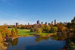 Turtle Pond (SamuelWalters74) Tags: newyorkcity autumn trees newyork unitedstates centralpark manhattan fallcolors places autumnleaves autumncolors fallfoliage turtlepond centralparkinautumn